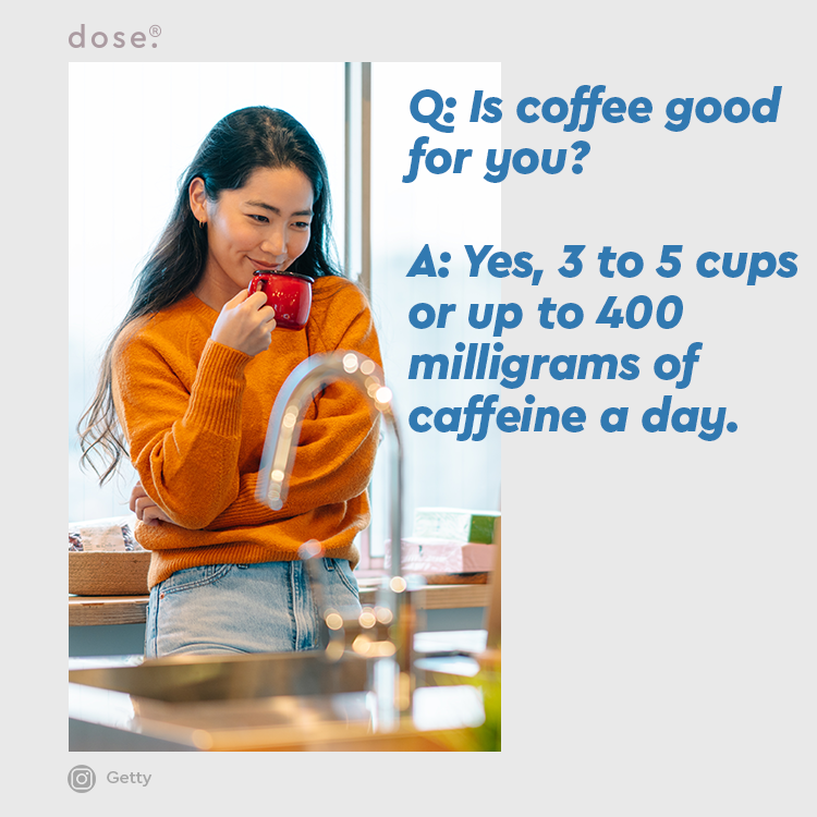 """From now on, when your co-workers look at you with that, """"Can't believe you're having another cup of coffee face...""""   You can say... """"It's G🙃🙃D for me.""""  via @NYTimes"""