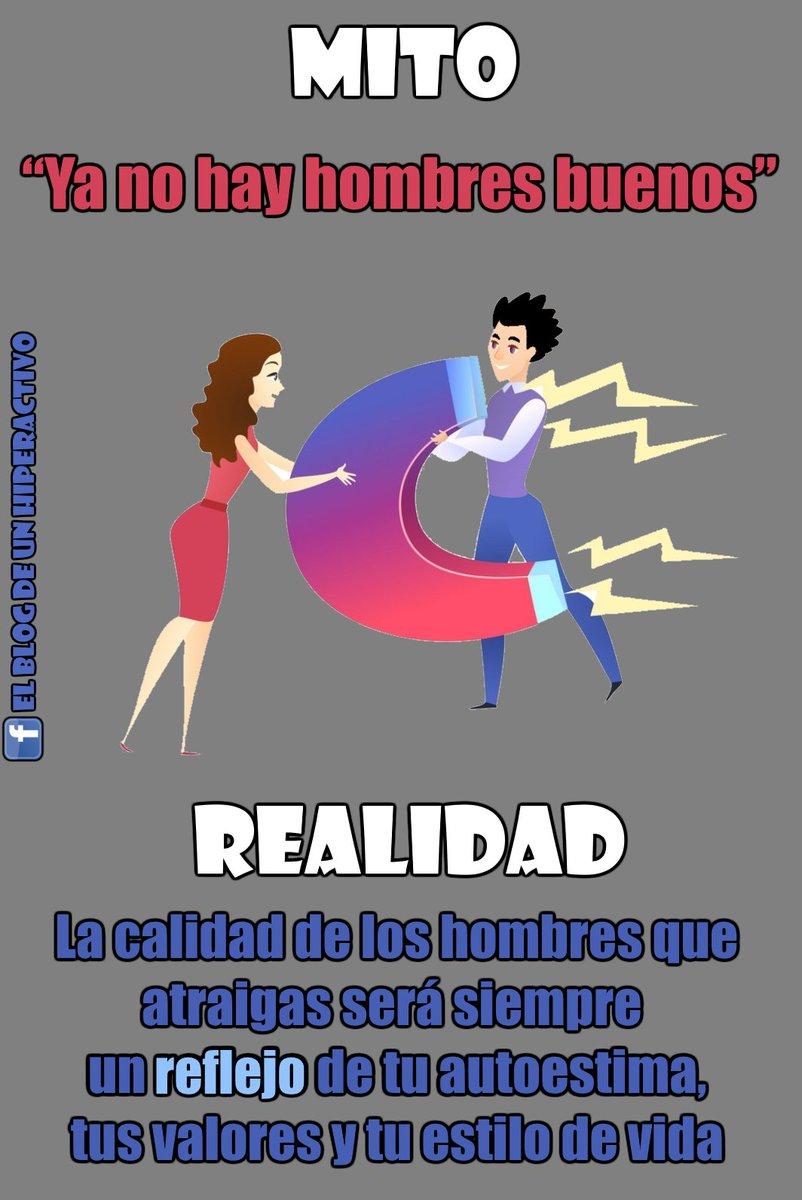 """MITO: """"Ya no hay hombres buenos"""" REALIDAD: La calidad de los hombres que atraigas será siempre un reflejo de tu #autoestima, tus valores y tu estilo de vida.  Amiga: recuerda siempre que no atraes lo que quieres, atraes lo que eres  #Pareja #LeyDeLaAtracción #Amor #SaludMentalpic.twitter.com/LwRlijc4et"""