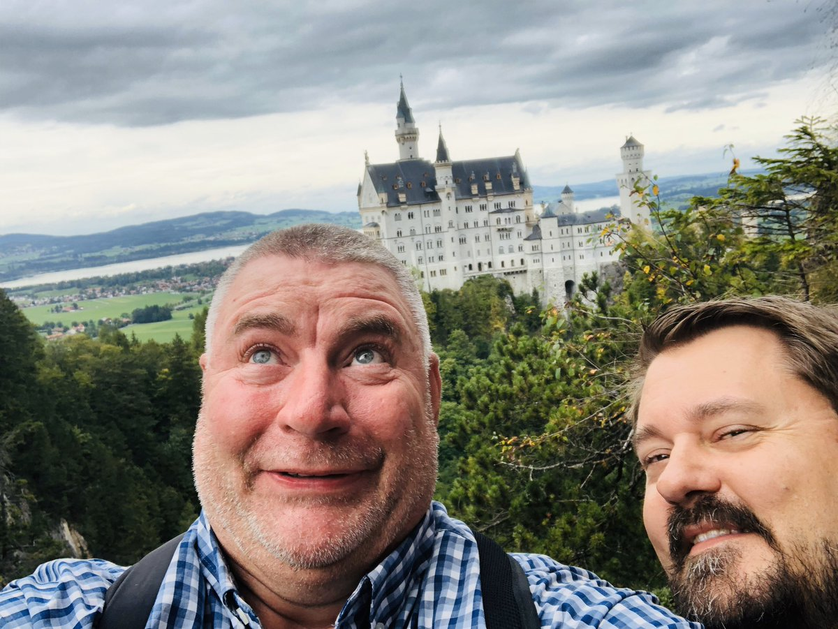 """Catch my video on my YouTube channel titled""""Germany Travel/Personal Guide"""". It is always fun to take folks here for the first time at the Neuschwanstein Castle. Have you been here?#germanytravel #germanysworld #prettygermany #visitbavaria_instra #letsgo #visitbayern #travelgermanpic.twitter.com/jW7s2gan79"""