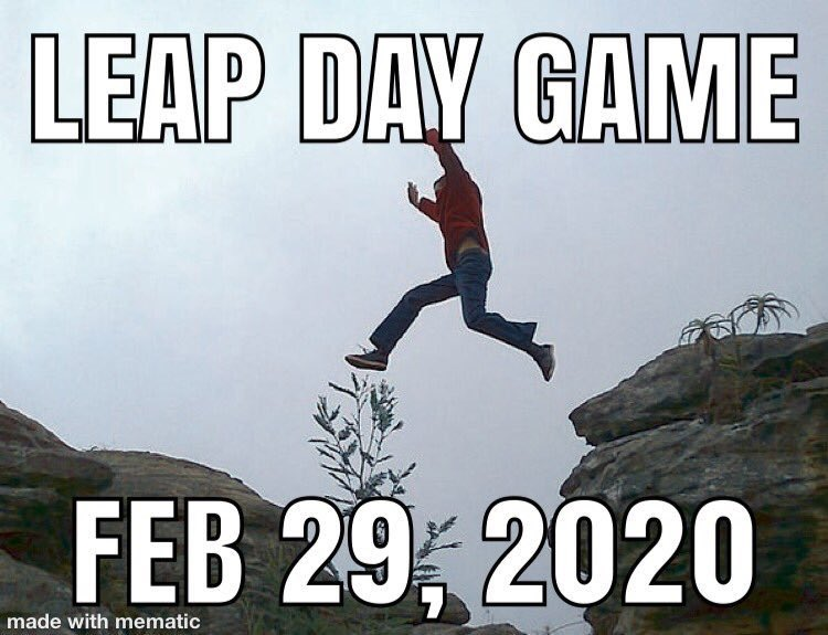 Join us on February 29th 9:45 AM for @leap_game hosted by @math_tagger and cohosted by @JaymeMcKenna @JWButta @estavans @toonces_lives @JanGilson @1cookinggal @candidqueso @telliabear @svenskamum @TheeMarvHayes @Calamity_clr @kimmer4667 @judenmarysmomma @GoGetChaLife and...