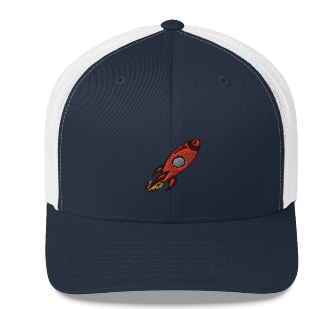Designed a custom Launch hat. Fun to see a sketch turn into a physical object. I'm just hoping it turns out right.