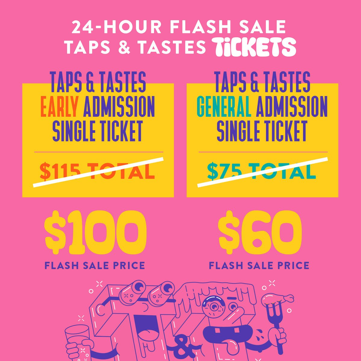 🚨 Don't miss this deal on @Blvdia Taps & Tastes tickets! 👇