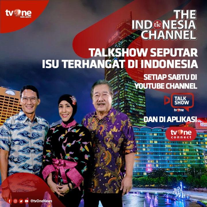 Jangan sampai ketinggalan isu dan berita terkini di Indonesia. Saksikan video talkshow Hot Indonesia bersama Dalton Tanonaka, Sandrina Malakiano dan Sandiaga Uno. Setiap Sabtu di Youtube channel Talk Show tvOne & tvOne connect.#HotIndonesiaOne