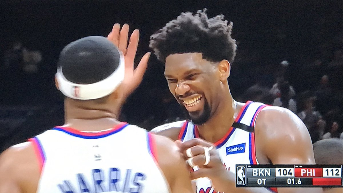 Sixers 1/2 game behind Miami Heat for 4th seed and home court Sixers 26-2 at home 🔥🔥 #PhilaUnite