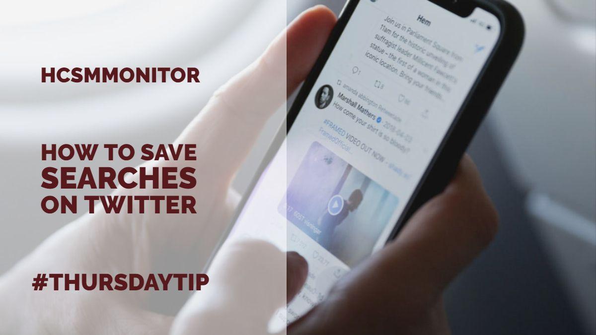 RT @JBBC: #ThursdayTip: How To Save Searches on Twitter https://t.co/ZKaj4md3dY https://t.co/9fS581qkwv