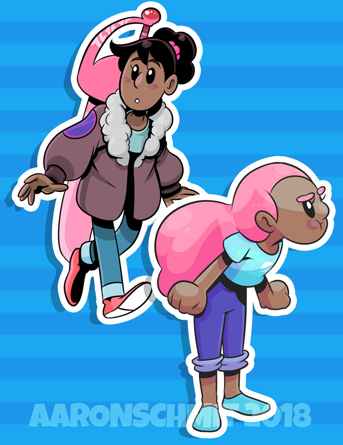 Re-upload of an old set of Connie sticker ideas from March 2018. I really need to catch up the SU: Future. #StevenUniverseFanart