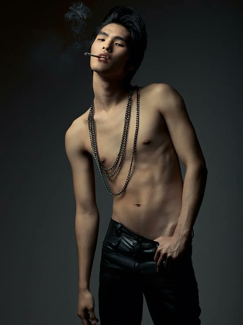 Asian male models naked