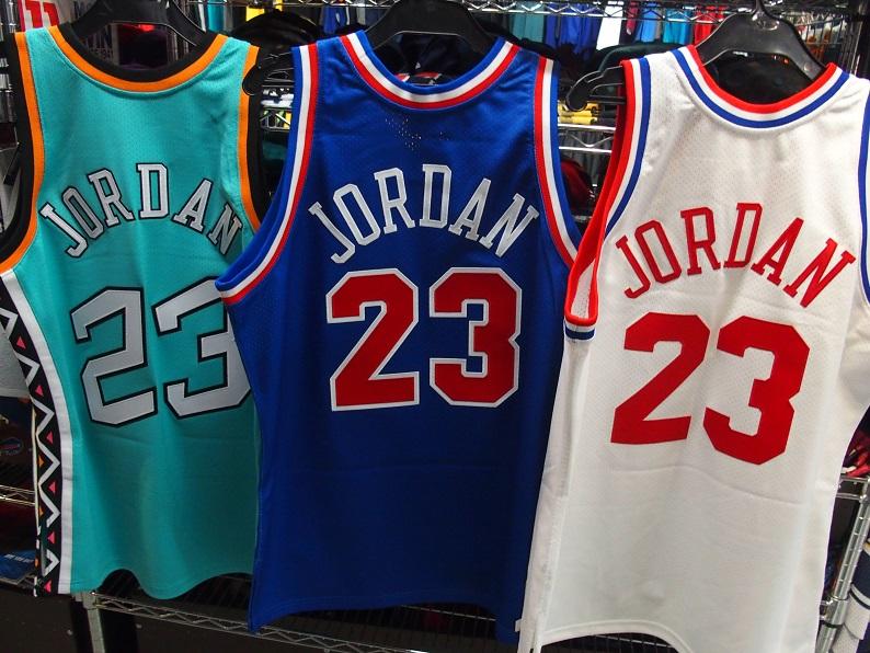 """【2/21ブログ更新しました】最新入荷情報!!!""""Mitchell & Ness製""""JORDAN 93,96 NBA ALL STAR  #NBA #mitchellandness #NBAAllStar #90s"""