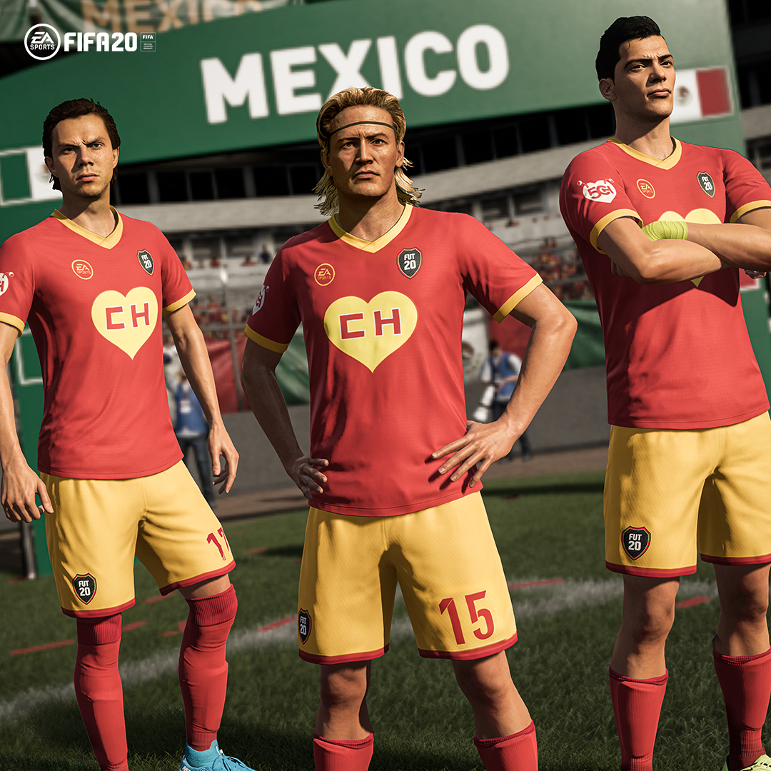 An unlikely superhero ❤️⚽A beloved character around the world 🌎 Bienvenida la LEYENDA!  El #Chapulín Colorado KIT is available in #FUT20 Objectives🔨 #SiganmeLosBuenosFIFA20