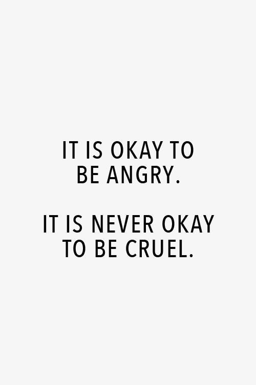 Don't say something permanently hurtful just because you're temporarily upset. Be careful with your words. Once they are said they can only be forgiven not forgotten. #morelovelesshate pic.twitter.com/a4KQcPEFf8