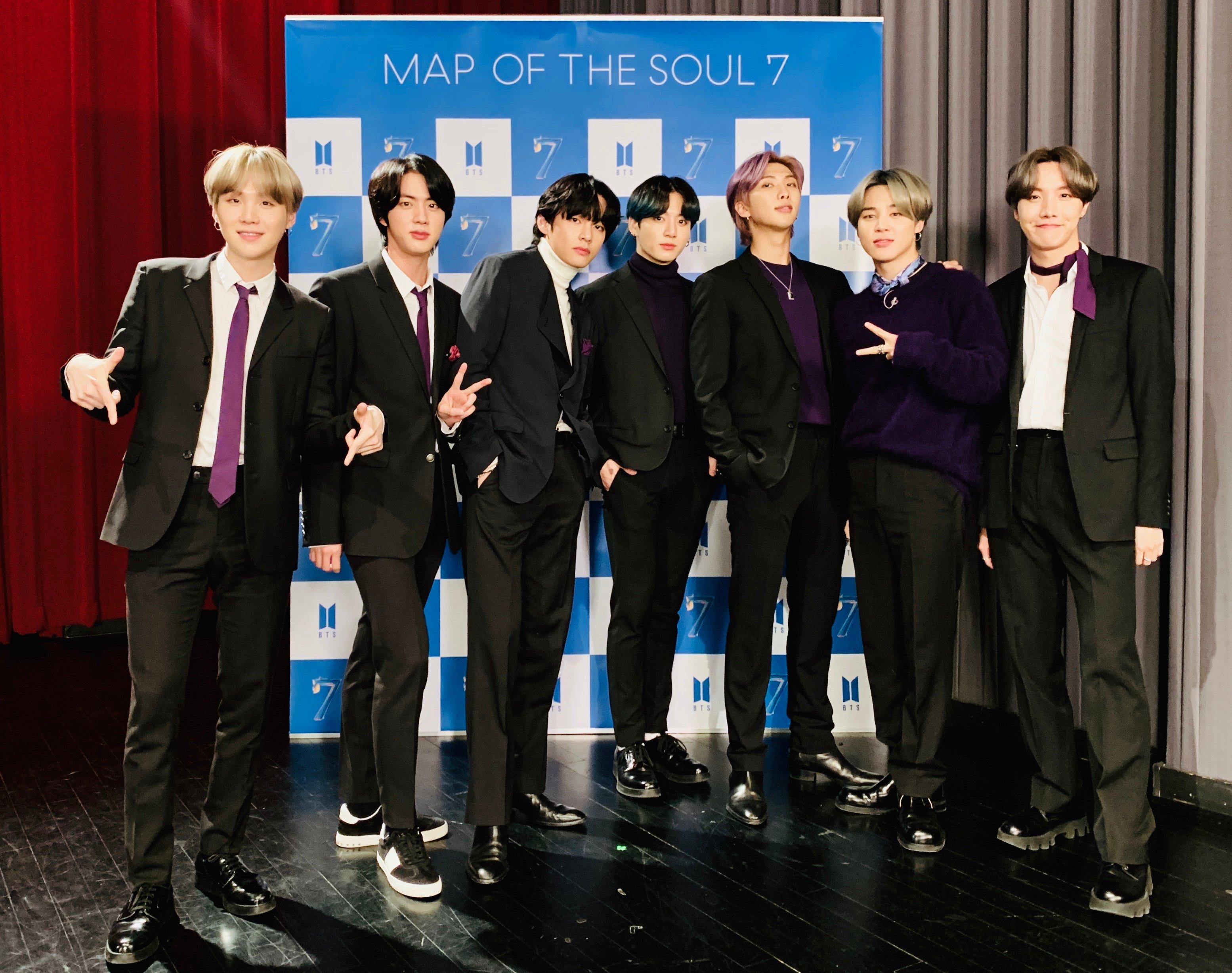 Daftar Lagu Solo, Sub Unit, dan Grup BTS di Album Map of The Soul: 7, Arti dan Filosofinya Dalam Banget