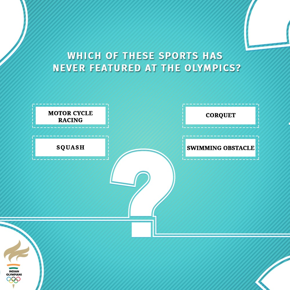 #FridayFeeling #Quiztime  . Participate to win exciting prizes from Indian Olympians.  . Rules 1. Like the image  2.Comment the answer below using hashtag #FridayFeeling