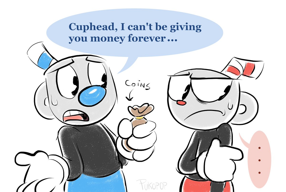 He already knows that, Mugman! #cuphead