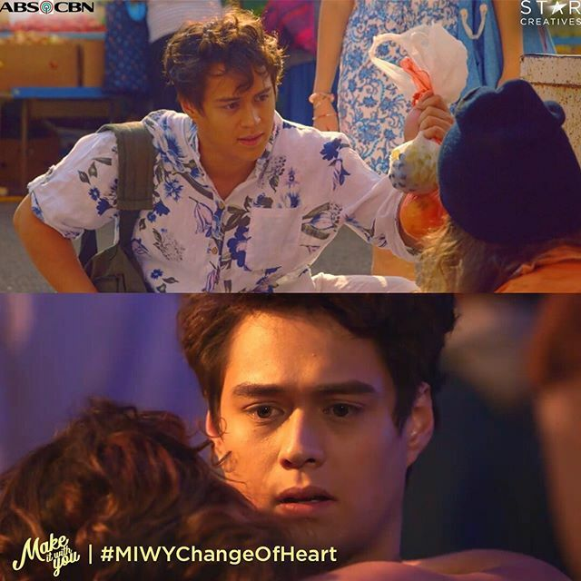 He's not heartless... he just started to use his heart less. #MIWYChangeOfHeart<br>http://pic.twitter.com/7YN3Todj2D