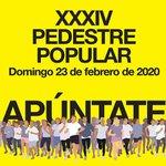 Image for the Tweet beginning: XXXIV Pedestre Popular  @ayto_torre