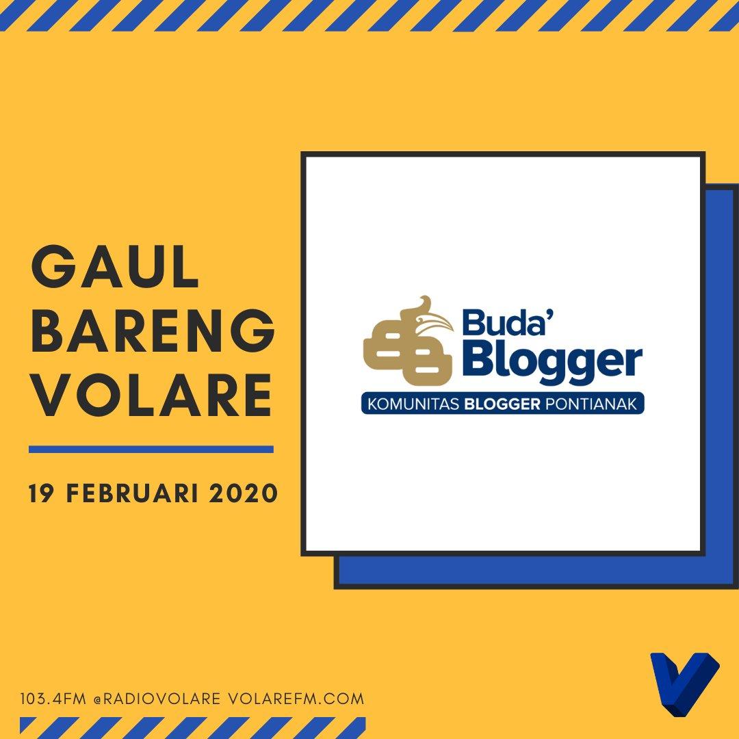 Gaul Bareng Volare: Komunitas Blogger Pontianak
