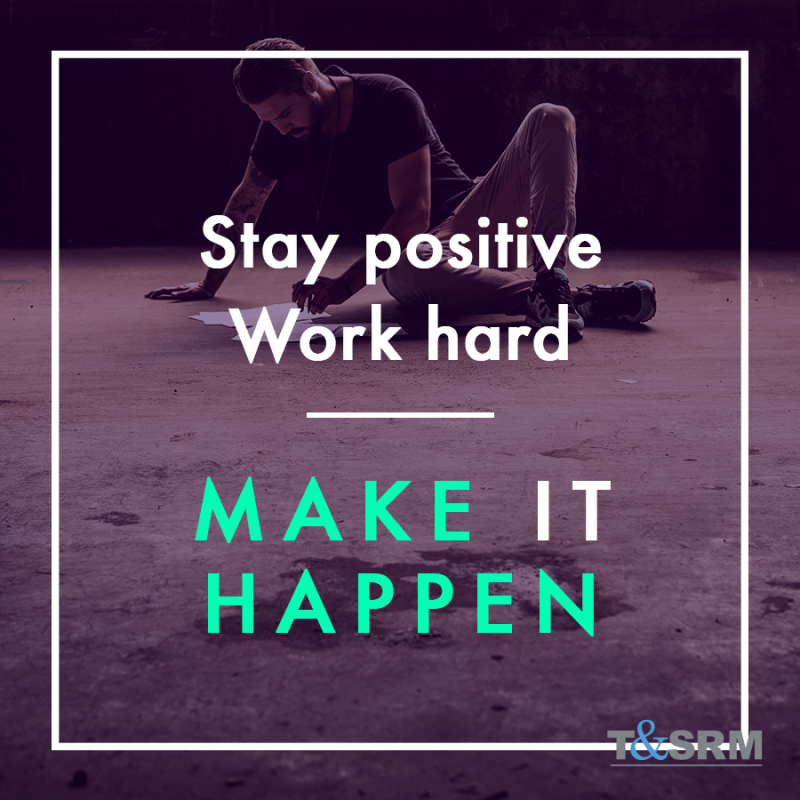 Stay positive #WorkHard #MAKEITHAPPEN pic.twitter.com/1RXWY8c2US