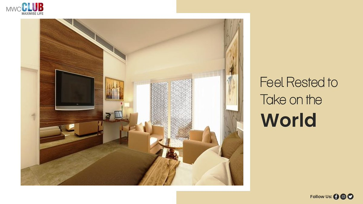 MWC Club brings you luxurious and comfortable Rooms designed to fuel you to begin your day with full energy. Member or not, everyone is welcome to stay at MWC Club. #ExperienceMWCClub #Room #Staycation #club #socialclub #chilllife #Luxury #Amenities #Foodpic.twitter.com/Kn8A5UzOaa