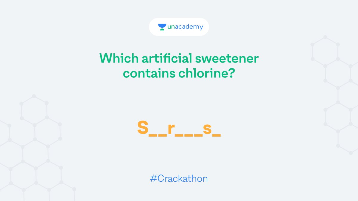 Hint: It is the only non-caloric sweetener made from sugar. Participate and stand a chance to win exciting goodies!  #LetsCrackIt #ContestAlert #Crackathon #ContestAlertIndia