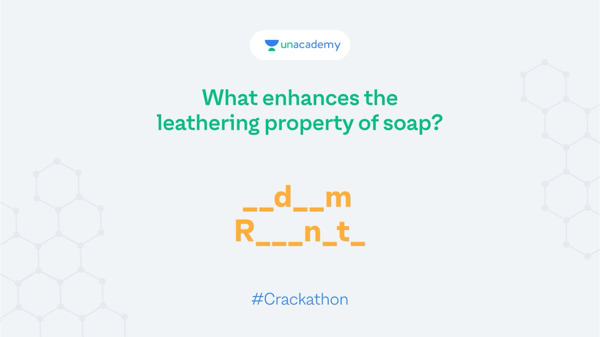 Last one! Hint: It is a fluid, high viscous solution of sodium soap rosin. Participate and stand a chance to win exciting goodies!  #LetsCrackIt #ContestAlert #Crackathon #ContestAlertIndia