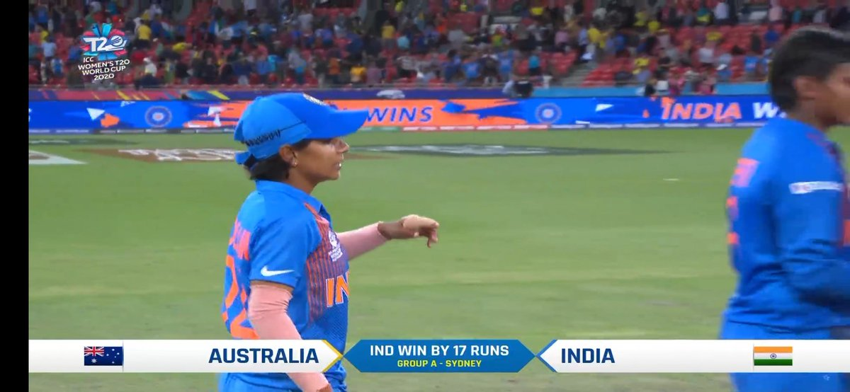Beating Australia in Australia that too in T20 WC is real mass .  Veritham Poonam . #INDvsAUS #T20WorldCup <br>http://pic.twitter.com/NiBUCZltX8