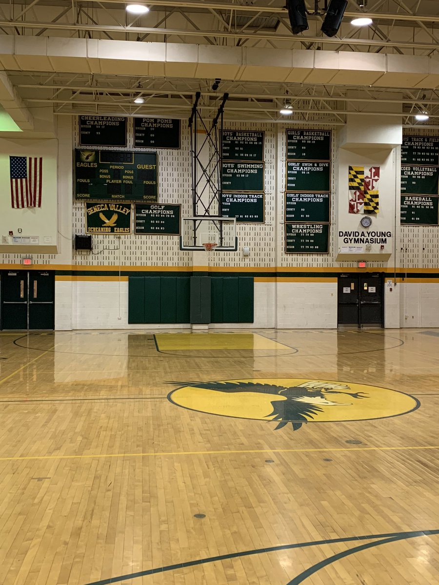 Germantown Pulse On Twitter Tonight May Be The Last Basketball Game At The Gym At Seneca Valley High School Before The New School Opens In September The Gym Has Held Basketball In
