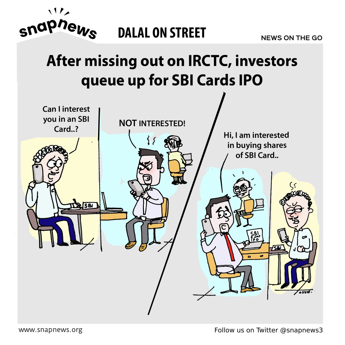 After missing out on IRCTC, investors queue up for SBI Cards IPO #SBI #SBICards #IPO #IRCTC @SBICard_Connect