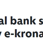 Image for the Tweet beginning: The central bank of Sweden