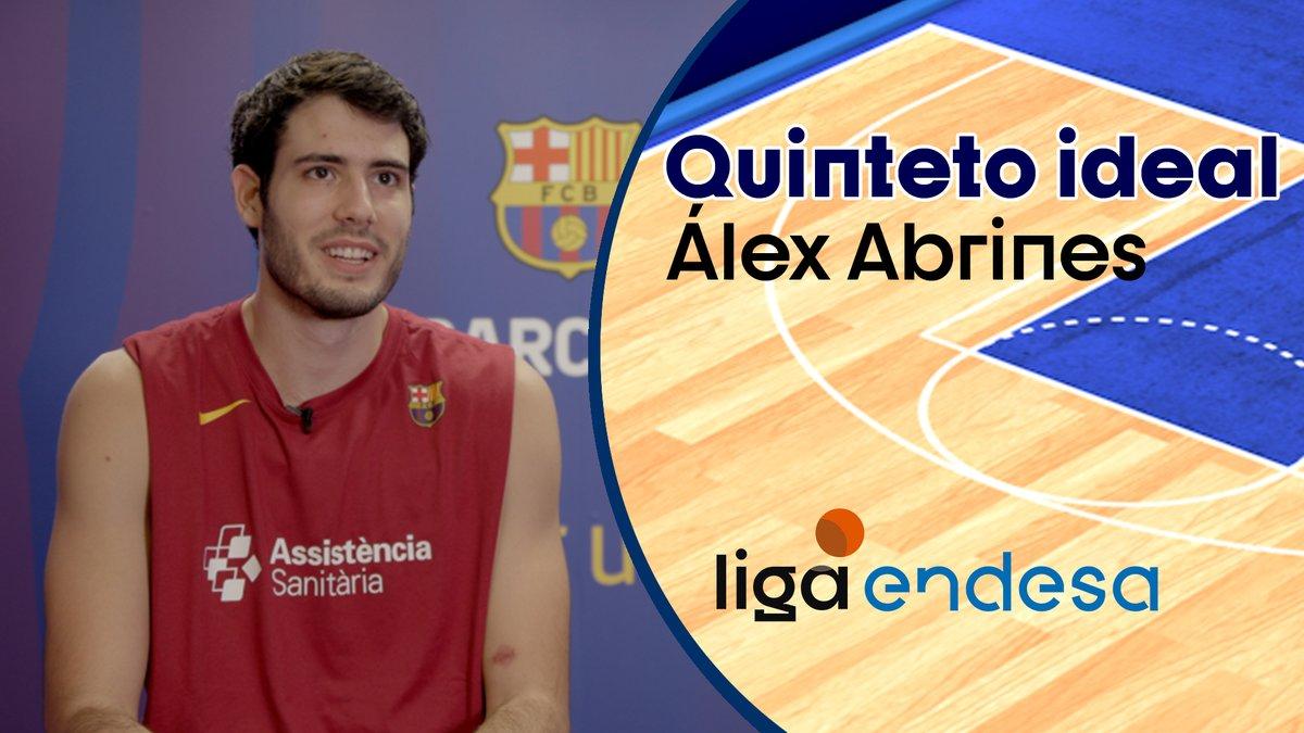 2⃣ LEYENDAS del baloncesto español y 3⃣ superestrellas de la NBA ¡Este es el quinteto ideal de @alexabrines!  #LigaEndesa