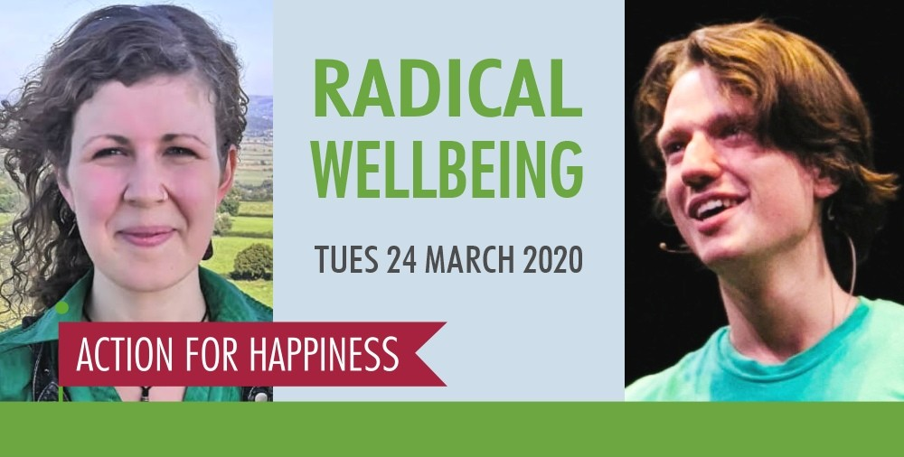 Our happiness does not live in a bubble, it depends on the world around us. We can learn to respond to a troubled world with kindness, optimism and wisdom 🌍💕☀️ Join us for an inspiring event with @alxflxnun @Flo_Sci on Radical Wellbeing radicalwellbeing.eventbrite.co.uk
