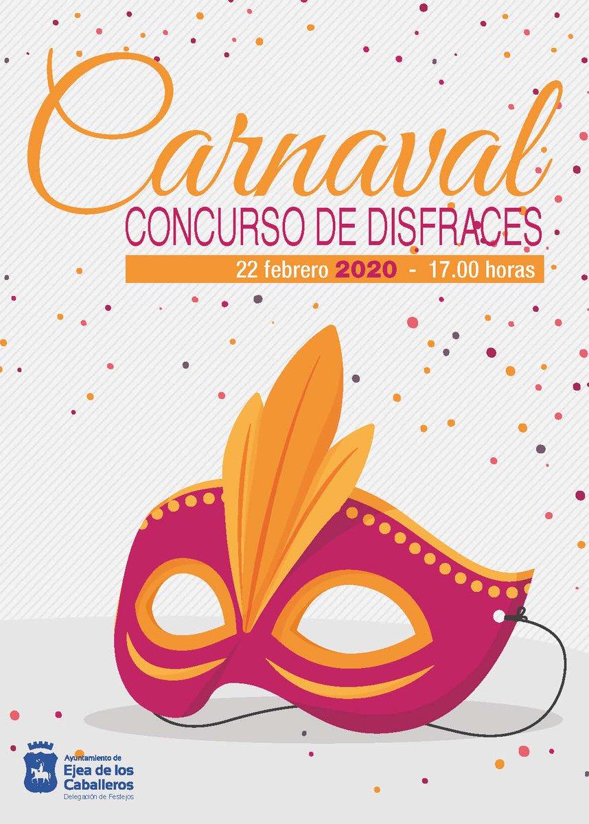 🎉 #Carnaval2020 en #Ejea: 👧👦 #Carnaval #infantil: #viernes, desde las 16:30 en la Pza de la Villa. 🥳 #sábado: desde las 17:00, desfile de Carnaval desde el Antiguo Luchán hasta Pza Diputación (chocolatada y charangas). 20:00 en el Casino Orquesta TITAN  01:00 #DJ AlexMuñoz