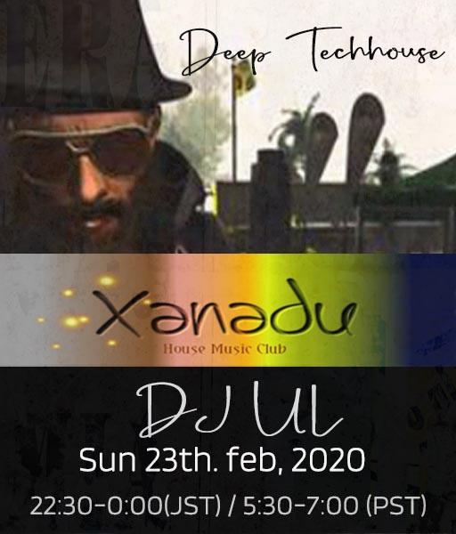 ▣▣▣ ║ • Club Xanadu • ║ ▣▣▣ who    :     DJ Ц Ł      what   :     Deep Techhouse when  :     sun 23rd, Feb - 2020                   22:30-0:00 JST / 05:30 - 07:00 SLT where :     http://bit.ly/37N9MfU #SL #Secondlife #DJUL #SLDJ #DJ #Club #Deep #techhouse