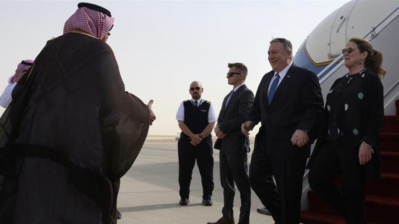 Many issues need to be discussed regarding #SaudiArabia, but the most important thing Pompeo should talk about is #SaudiArabia's egregious #HumanRights abuses.   https://www. aljazeera.com/news/2020/02/p ompeo-raise-saudi-human-rights-record-trip-kingdom-200219145601443.html  … <br>http://pic.twitter.com/1jtbARBelZ