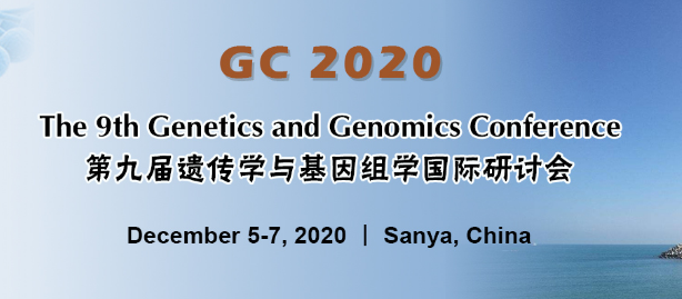 The 9th Genetics and Genomics Conference (GC 2020) Website: https://www.deconf.org/conference/GC2020/… Venue/Country: Sanya, China  Important Dates Conference:Dec. 5-7, 2020 Full Paper Due:May 25, 2020 Abstract Due:May 25, 2020 Audience Registration Due:Dec. 5, 2020pic.twitter.com/tpSYqj3msI