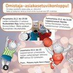 Image for the Tweet beginning: Su 23.2. jatketaan kotipelillä Äänekosken