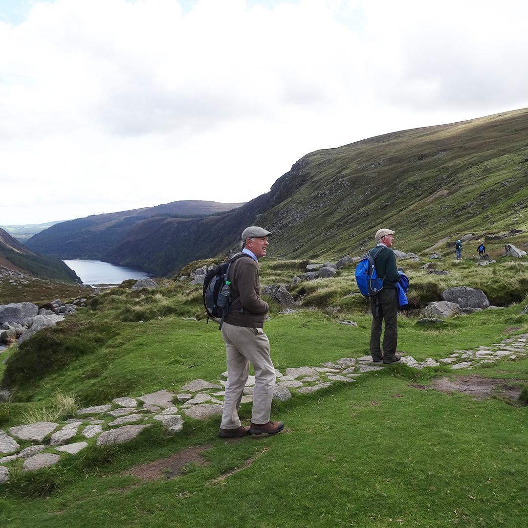 Wandering along the Wicklow Way...  #ireland #wicklowway #visitireland #walking #hiking #trekking #travel #getoutdoors #thisismyoutdoors #exploremore #hikeformentalhealth #stayactive #adventuretravel #mountainsforthemind #sherpaexpeditions