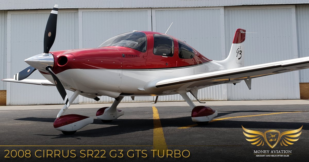 2008 Cirrus SR22 F3 GTS Turbo featuring an Avidyne PFD. MFD and Flight Director. View more details by visiting our website -    #aviation #avgeek #cirrus #SR22 #aircraft #airplane #pilot   #instaaviation #plane  #pilotlife #flying #flight #fly #travel