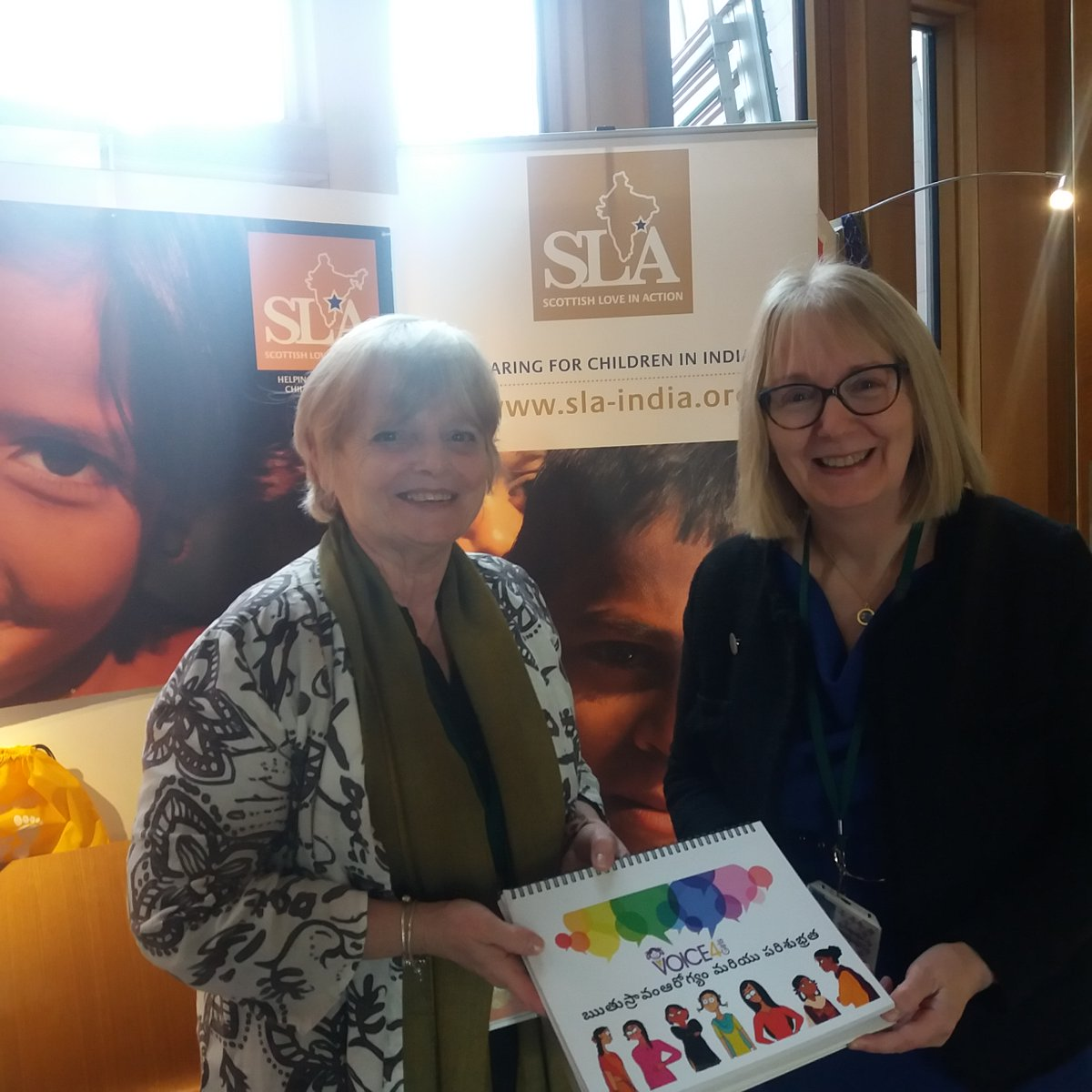It was lovely to meet @BeatriceWishart @ScotParl this week & talk about #children & #girls in #India. It's fantastic to see our MSPs in #Scotland taking such an interest in the issues we and our #partners are tackling.
