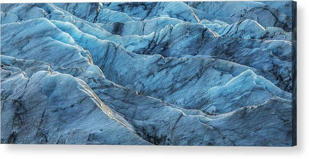 Art for the Eyes! Glacier Blue Acrylic Print by Jon Glaser https://buff.ly/2unJUsH #iceland #abstractart #artwork #artlover #art #photograph