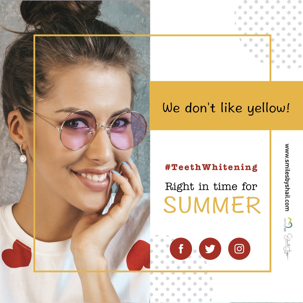 Look your best this summer with  #teeth #whitening & #smile designing only at DentalWiz.  ✓ Safe ✓ Noticeably whiter teeth ✓ Quick Appointment ✓ Affordable ✓ Long-Lasting  BOOK NOW: 9822032260 WHATSAPP   #Dentist #FridayFeeling #Pune #FridayThoughts