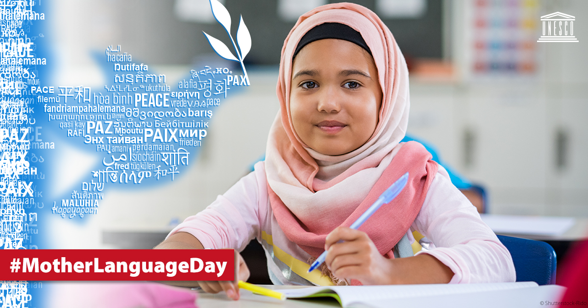 """Happy #MotherLanguageDay! 😃 How do you say """"peace"""" in your mother tongue?"""