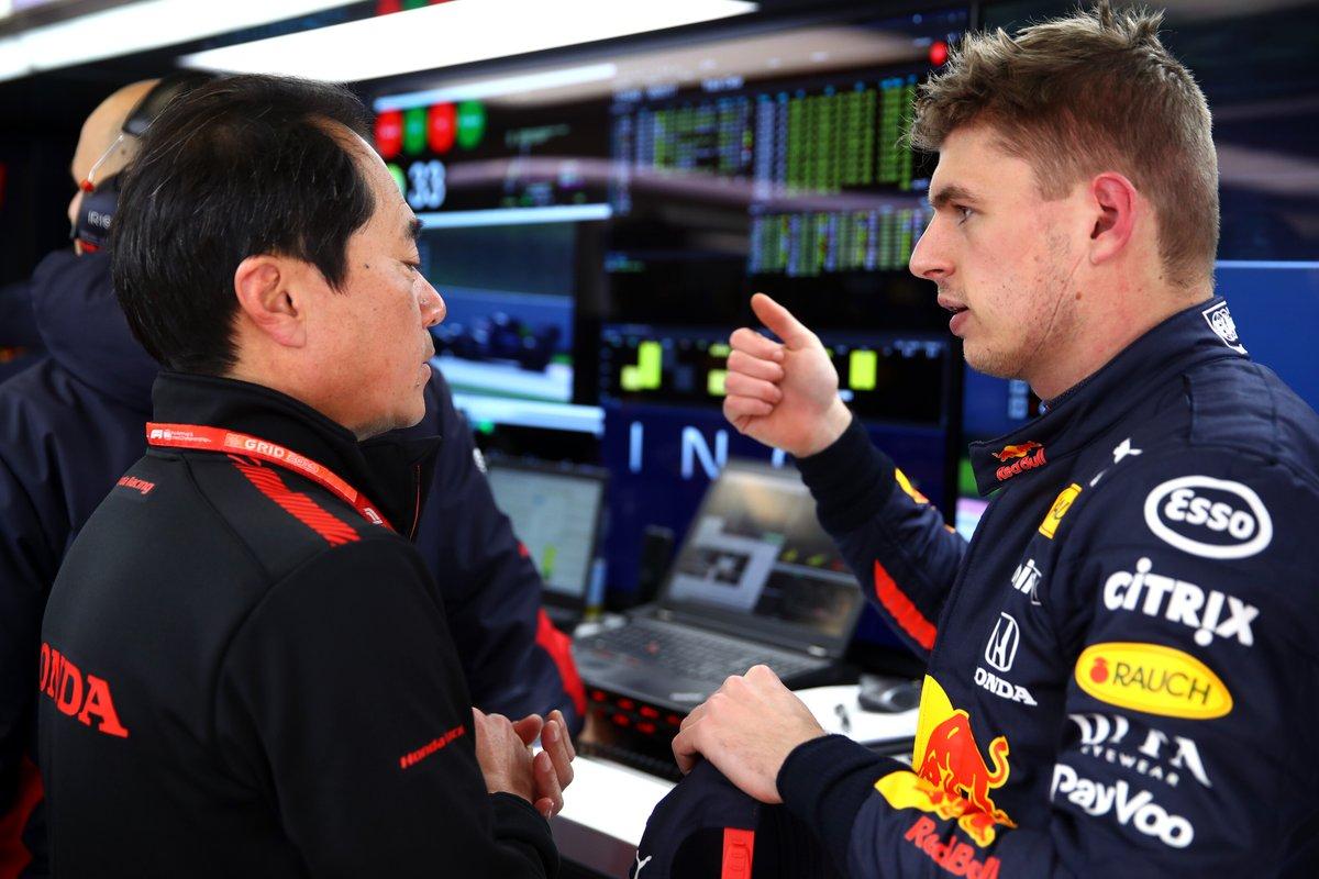 Split driving duties for both teams today  Max/Daniil (am)  Alex/Pierre (pm)  Let's get to it 👊  #PoweredByHonda