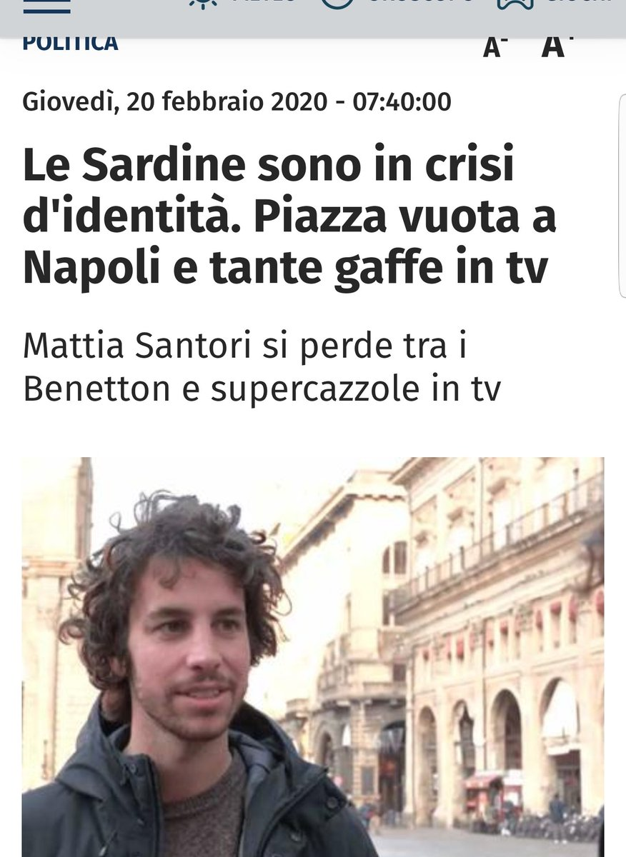 #LeSardineVestonoBenetton