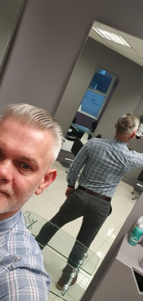 Get your #selfie started #haircut