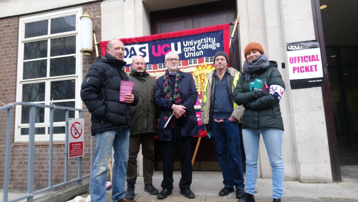 Corbyn @UCUSOAS solidarity