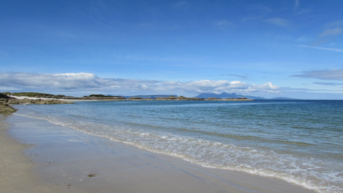What the #beach means at #Camusdarach, with and photo courtesy of @StayAchnacarry and with @PureNuffStuff -