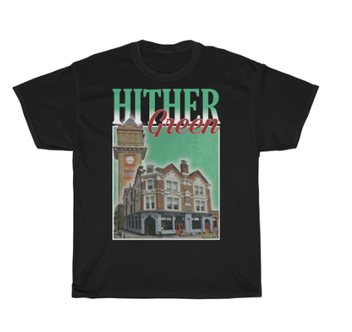 Check out this funky 90s style #HitherGreen t-shirt!https://shop.southlondonclub.co.uk/collections/unisex-t-shirts/products/hither-green-90s-style-unisex-t-shirt…pic.twitter.com/9YC5Q9ViN5