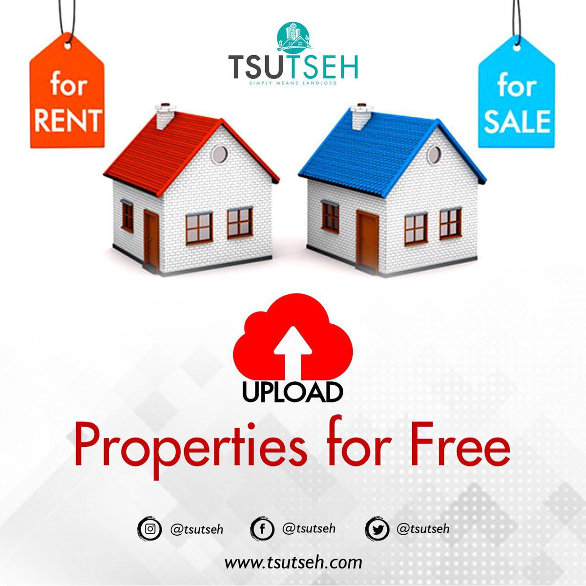 Upload your properties for FREE and let your tenants rent them online. #tsutseh #trend #trending #viral #ghana #accra #rent #properties #forsale #houseforrent #house #wedding #forrent #7COMEBACKSPECIAL #AGis60 #YearOfReturn #homesforsale #home
