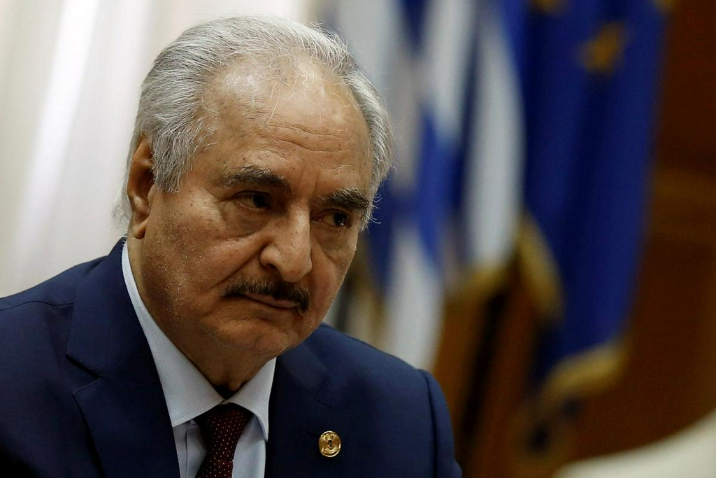 Libyas Haftar says any ceasefire would be contingent on Turkish withdrawal: RIA reut.rs/2PcbUY2