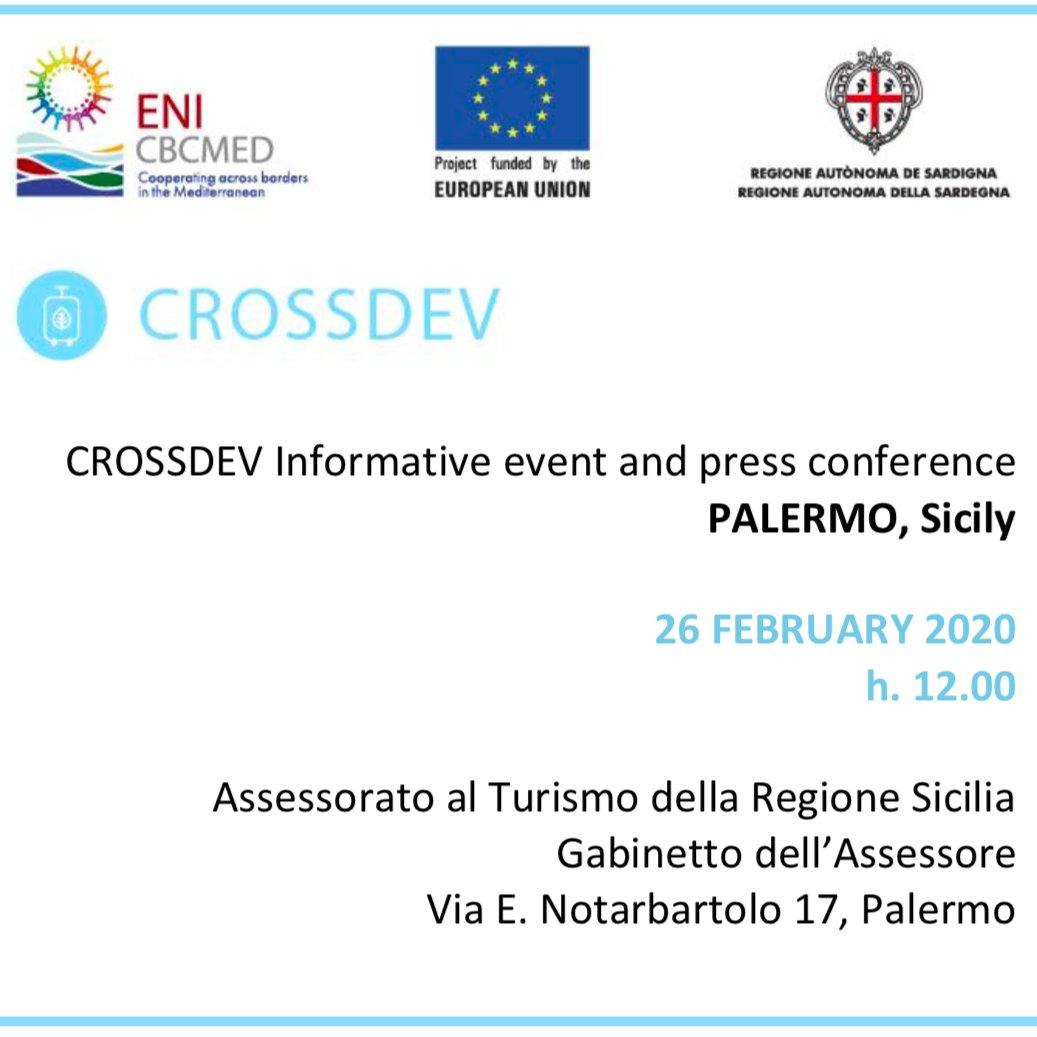 ➖2⃣ giorni alla presentazione di #goCROSSDEV a Palermo! #ViaSelinuntina #TurismoSostenibile @Regione_Sicilia @tgrregioneuropa @CultureRoutes